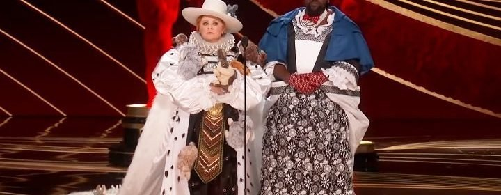 Melissa Mccarthy And Brian Tyree Henry S Oscars Costume Deemed Tasteless And Insulting Top Movie And Tv