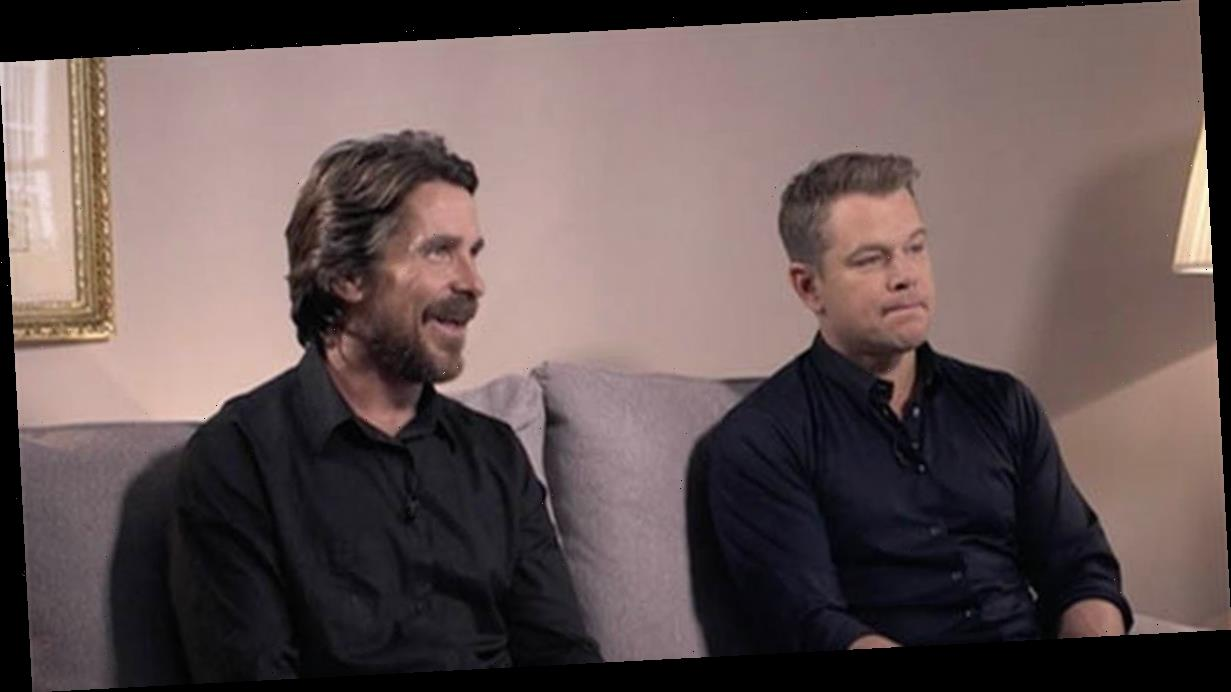 Christian Bale S Accent Amazes Viewers In Bbc Breakfast Chat With Matt Damon Top Movie And Tv